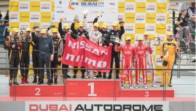 Ordóñez estrena el año con un triunfo en las 24 H de Dubai