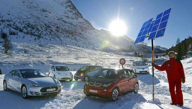 Comparativa eléctricos en nieve