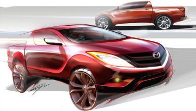 Un nuevo pick-up para profesionales y aventureros: Mazda BT