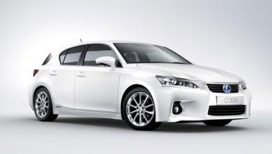 El Lexus CT 200h se beneficiará de las ayudas oficiales a v