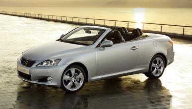 Lexus renueva su IS 250 Coupé Cabrio con la gama 2011