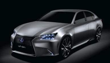 Lexus LF-Gh: el futuro GS