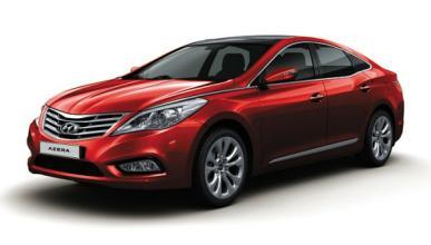 El Hyundai Azera sale al extranjero por primera vez