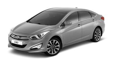 Hyundai i40 sedan salon de barcelona frontal