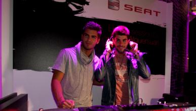 Alguersuari, DJ en el Salón de Barcelona