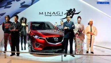El Mazda Minagi, en el Salón de Barcelona