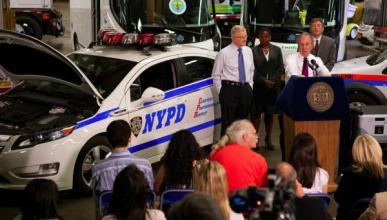 50 Chevrolet Volt para la policía de Nueva York