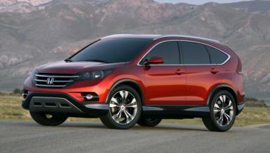 El nuevo Honda CR-V Concept presenta su primera imagen