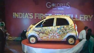 Tata Nano de oro: uno de los coches más caros del mundo