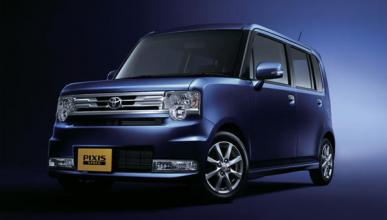 Toyota Pixis Space, el primer minivehículo de la marca