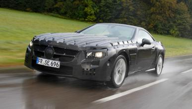 El nuevo Mercedes SL, con limpiaparabrisas inteligente