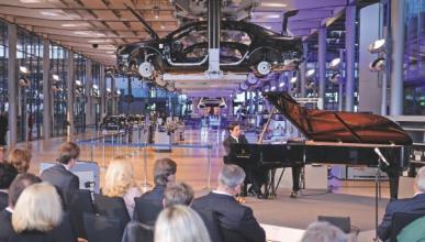La Fábrica de Cristal de Volkswagen cumple diez años