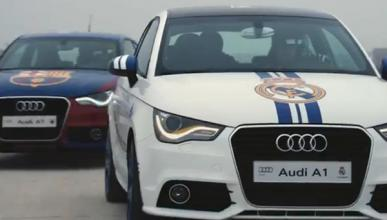 Audi A1 Real Madrid contra Audi A1 Barcelona: ¿Quién gana?