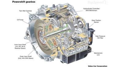Volvo adopta el cambio automático de doble embrague