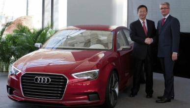 Audi crea una planta en China para fabricar el nuevo A3
