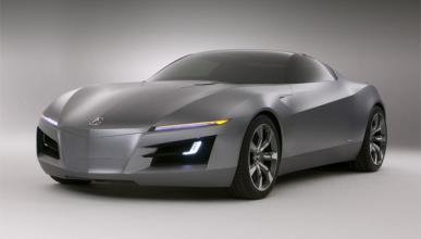 La base del futuro Honda NSX, en el Salón de Detroit 2012