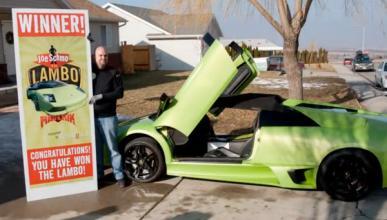 Gana un Lamborghini Murciélago LP-640 y lo destroza