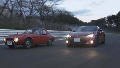 El Toyota GT 86 comparte circuito con el Toyota S800