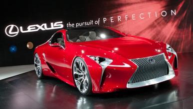Lexus LF-LC Salón de Detroit 2012