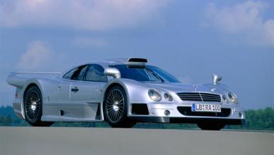 Un Mercedes CLK GTR Super Sport sale a subasta