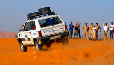 Panda Raid 2012: 4.000 kilometros y  70 participantes