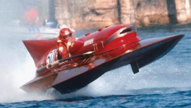 Ferrari Hydroplane 'Arno XI' récord