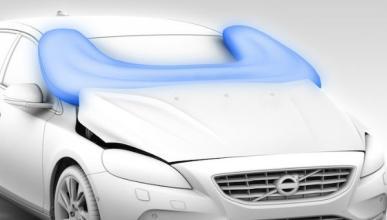 Volvo presenta un airbag para peatones en Ginebra