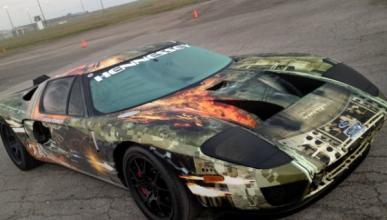 Un Ford GT a 414 km/h se hace con la 'Texas Mile'