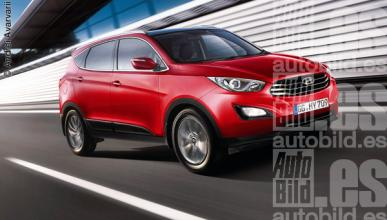 Hyundai ix45 frontal