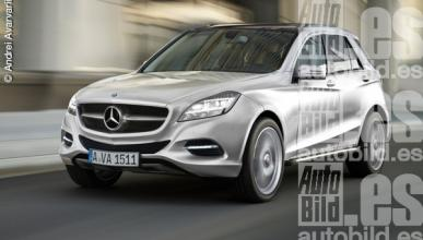 Mercedes BLK delantera