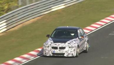 El futuro BMW M3 F80, cazado en Nürburgring