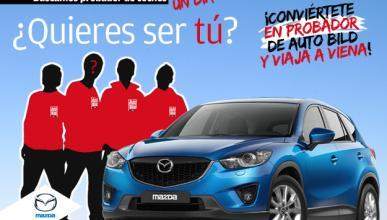 Finalistas para ser probador del Mazda CX-5 en Viena