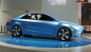 Toyota Yundong Shuangqing, en el Salón de Pekin 2012