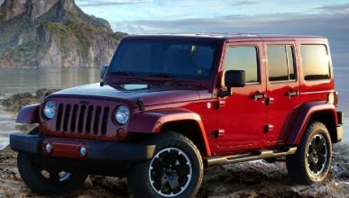 Jeep Wrangler Unlimited Altitude frontal