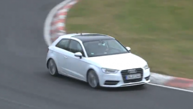 El nuevo Audi S3 2012 se deja ver por Nürburgring