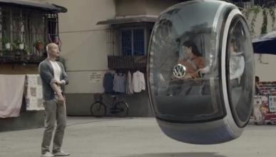Volkswagen presenta el coche volador