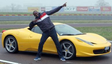 Usain Bolt sufre un accidente de tráfico del que sale ileso