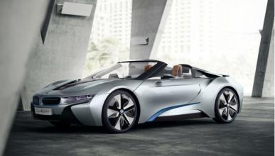 El híbrido BMW i8 llevará un motor tricilíndrico de 220 CV