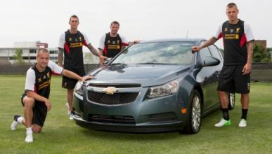 Chevrolet, patrocinador oficial del Liverpool Football Club