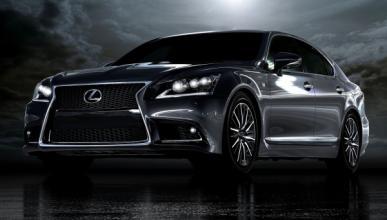 Lexus LS F Sport 2013