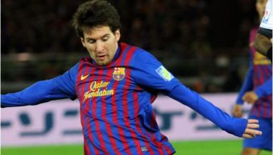 El coche de Messi