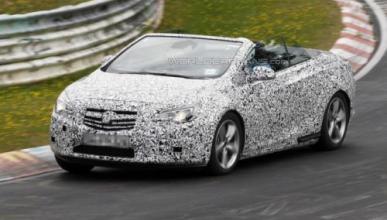 El Opel Astra Cabrio 2013, descubierto en Nürburgring