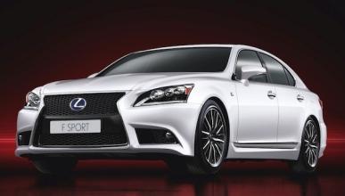 Un concept y LS 600h F Sport, novedades de Lexus en París