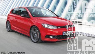 Volkswagen planea un radical Golf 7 GTI Carbon Edition