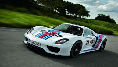 Porsche 918 Spyder: vuelta a Nürburgring en 7' 14''
