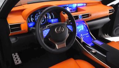 Lexus LF-CC: primeras imágenes del interior