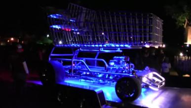 Un carrito de la compra con motor V8, sensación en Estados Unidos