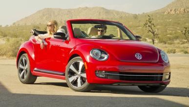 Volkswagen Beetle Cabrio 2013 frontal