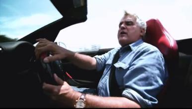 Jay Leno se pone  a los mandos del Lexus LFA Spyder