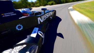 Accidente del Nissan DeltaWing en Petit Le Mans